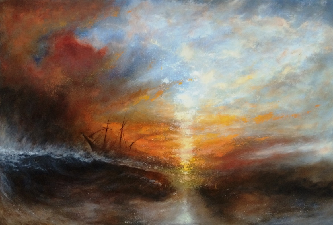 The Slave Ship - After Turner - 1170 x 790