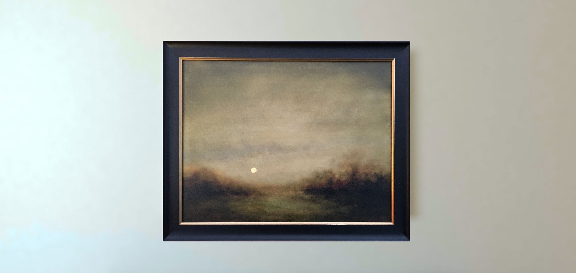 Moonrise Over Meadows
