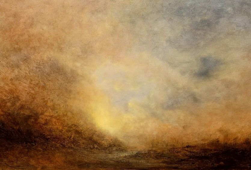 The Crossing, After Turner by Norfolk Artist Nial Adams
