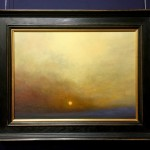 Last of the Winter Sun Oil Painting by Nial Adams