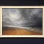 Blown Ashore North Norfolk Coast - Oil Painting by Nial Adams