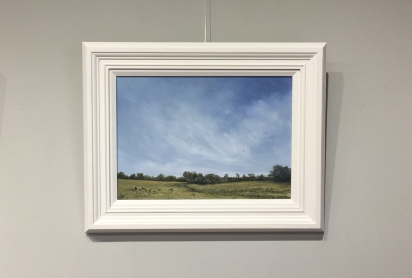 Parched at Blickling - Oil Painting by Norfolk Artist Nial Adams