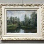 University Broad UEA oil painting by Nial Adams