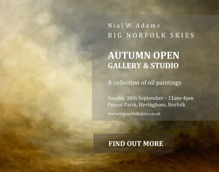 Norfolk Artist Open Art Gallery Exhibition
