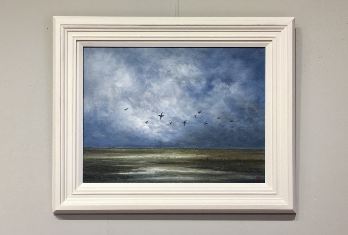 Mallards Over Morston - Norfolk Artist Nial Adams