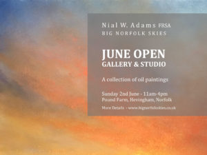 summer art exhibition norfolk nial adams