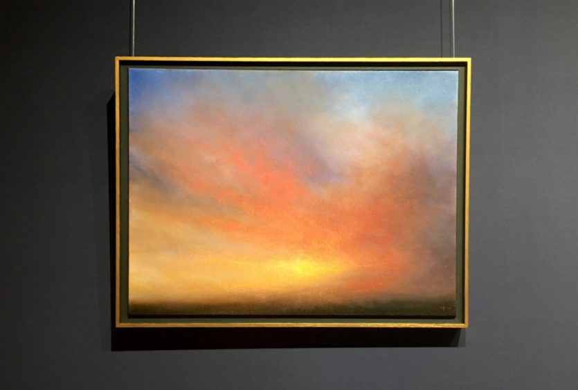Warmed By The Sun - Oil Painting Nial Adams