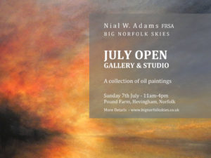 July Art Exhibition Nial Adams