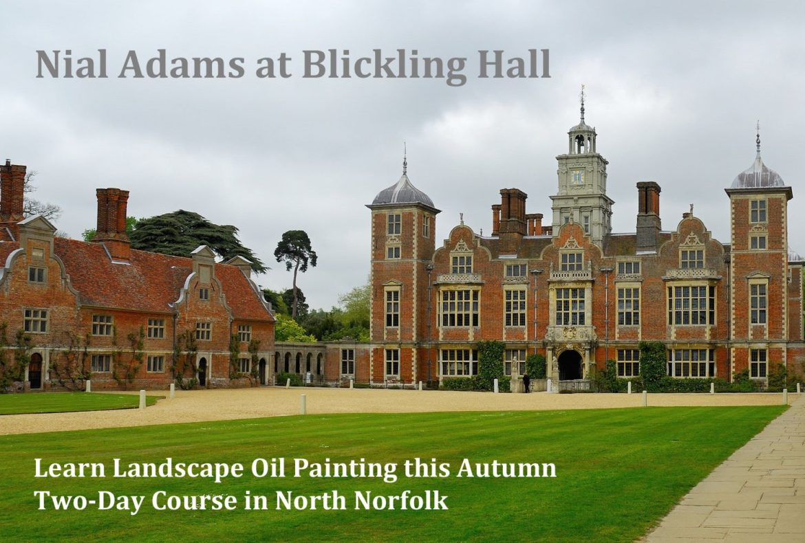 Oil Painting Course Nial Adams Blickling Hall Norfolk