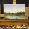 The Bure at Lamas Oil Painting Nial Adams