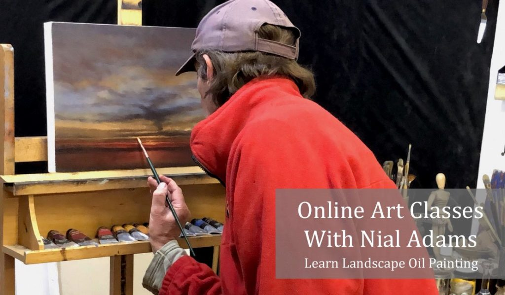 Online Art Classes With Nial Adams