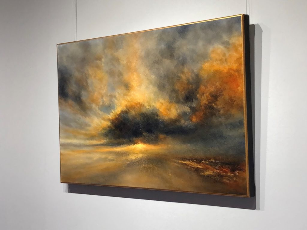 Piercing The Storm Oil Painting