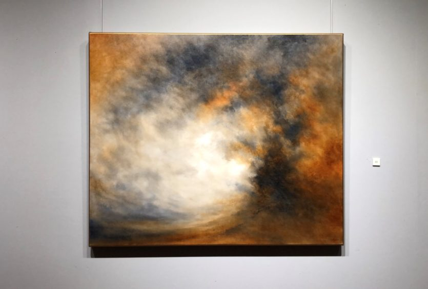 Touching The Sky Nial Adams Oil Painting