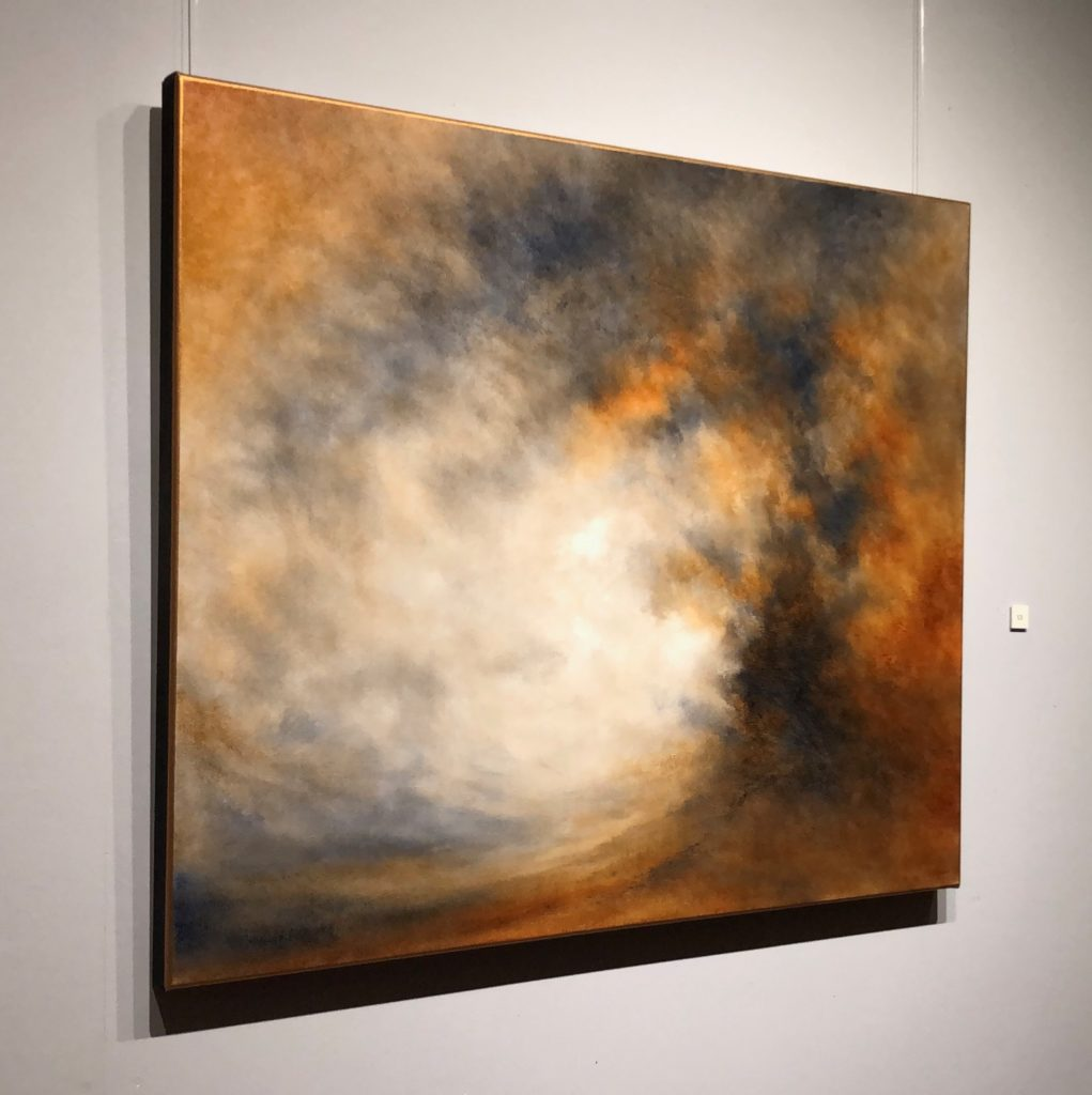 Touching The Sky Oil Painting